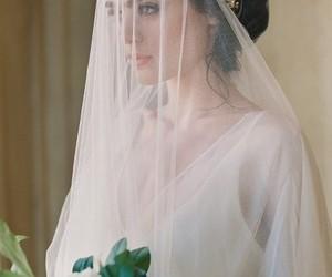 bride, love, and delicate image
