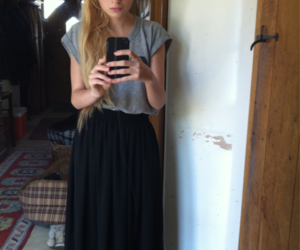 blond hair, outfits, and clothes image