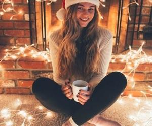 christmas, girl, and mood image