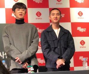 exo, kyungsoo, and chanyeol image