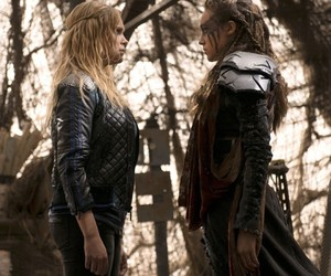 lexa, clexa, and the 100 image