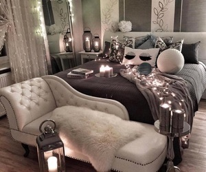bedroom, home decor, and decor image