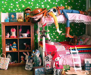 dollhouse, woody, and cute image
