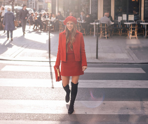 colours, girl, and fashion image