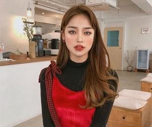 girl, korean, and fashion image