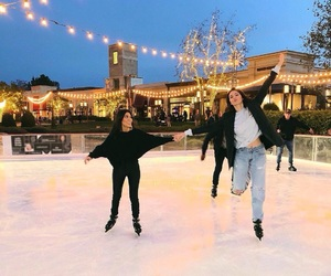 kendall jenner, christmas, and winter image