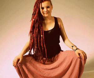 dreads, hippie, and redhead image
