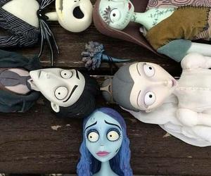 tim burton, doll, and jack skellington image