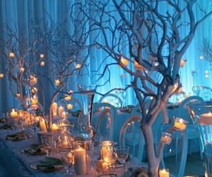 christmas, diner, and lights image