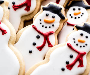 biscuits, winter, and christmas food image