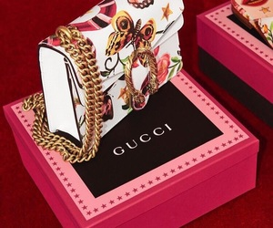 gucci, bag, and chic image