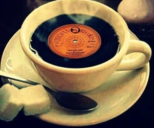 music and coffee image