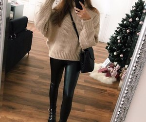 boots, leggings, and style image