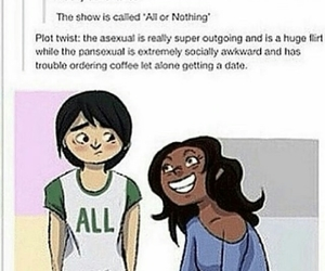 asexual, tumblr, and lgbt+ image