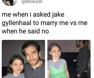 jake gyllenhaal, meme, and twitter image