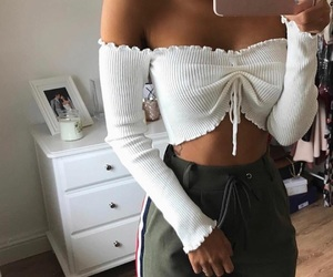 beauty, ideas, and outfit image