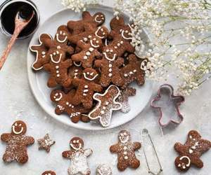 brown and christmas image