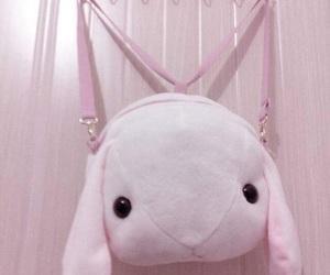 pastel, pink, and bag image