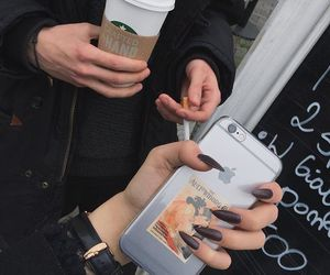 cigarette, claws, and phone image