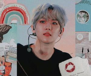 exo, header, and baekhyun image