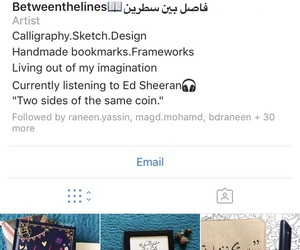 arabic calligraphy, bookmark, and design image
