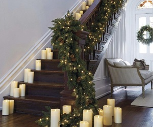 decor, christmas decor, and home image