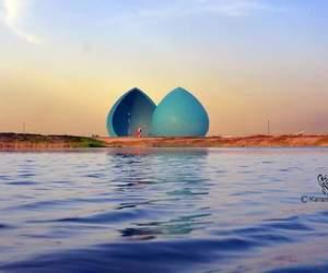 baghdad, نصب الشهيد, and blue image