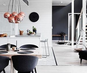 black and white, interior, and interior design image