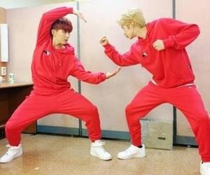 kihyun, hyungwon, and meme image