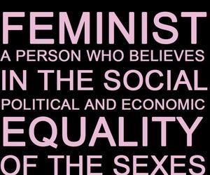 feminist, girl power, and feminismo image