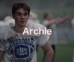 Archie, quote, and riverdale image