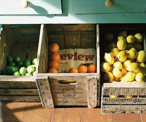 fruit, orange, and vintage image