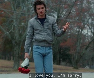 stranger things, steve harrington, and quotes image