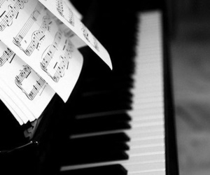 music, piano, and instrument image