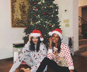 beauty, christmas, and bff image