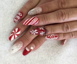 christmas, nails, and nails for christmas image