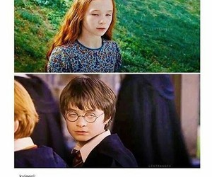 harry potter, funny, and eyes image