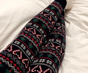 bed, christmas, and comfy image