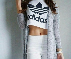 adidas, beauty, and chic image