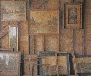 painting, art, and vintage image