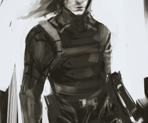 Marvel, winter soldier, and james barnes image