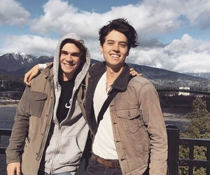 riverdale, boy, and cole sprouse image