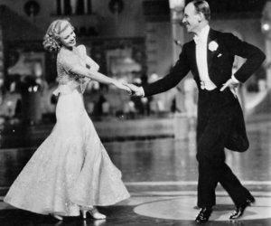 fred astaire, old hollywood, and ginger rogers image
