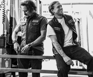 sons of anarchy, Charlie Hunnam, and soa image