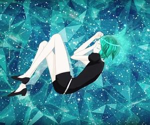 ame, amethyst, and anime image