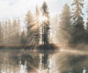lake and landscape image