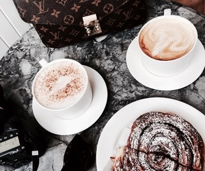 breakfast, luxury life, and coffee image