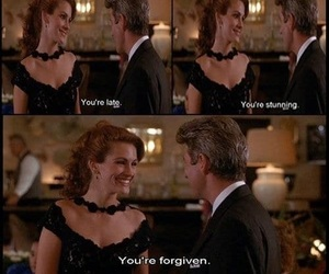 pretty woman, quotes, and words image