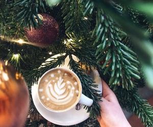 christmas, love, and coffee image