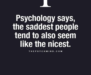 psychology, quotes, and sad image